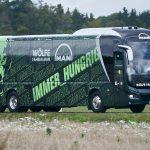autocar MAN Lion's Coach L echipa VfL Wolfsburg