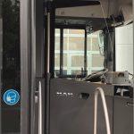 Panou de protecție MAN pentru separarea cabinei șoferului