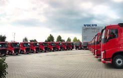 Luscan Com, flotă de 20 de autotractoare Volvo FH pentru construcții