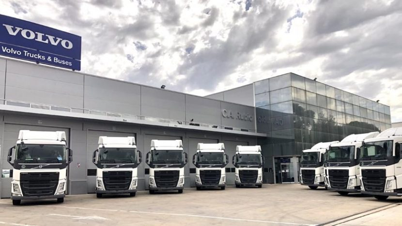 Acotral Volvo FH cu I-Save