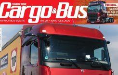 A apărut Cargo&Bus nr. 281, ediția iunie-iulie 2020