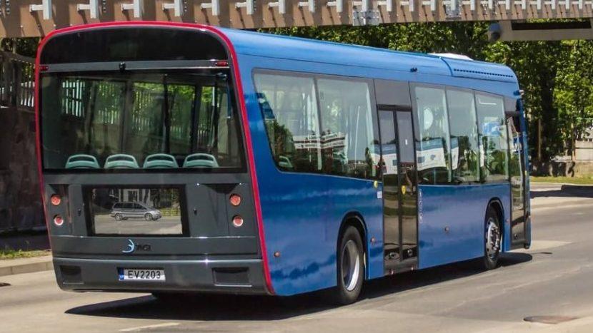 Autobuze electrice unice construite în Lituania (video)