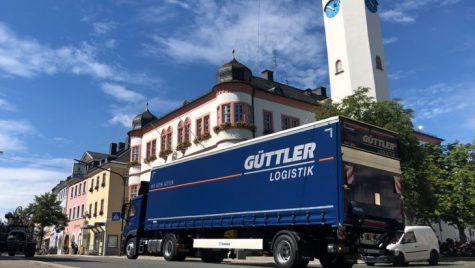 Semiremorci urbane speciale pentru Güttler: o singură axă, și aceea direcțională