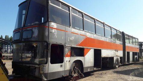 Cel mai neobișnuit autobuz Ikarus va fi restaurat