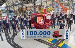 Fabrica Iveco din Valladolid a produs cabina cu numărul 100.000
