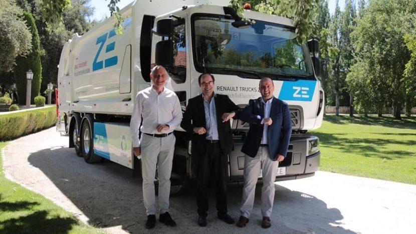 Primul camion electric Renault D Wide ZE de serie