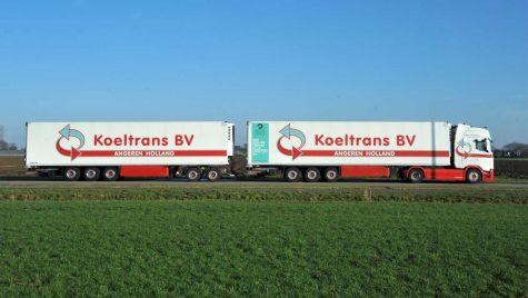 Olanda începe să testeze combinațiile cu două semiremorci