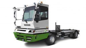 Motor electric ZF CeTrax pentru vehiculele din terminale