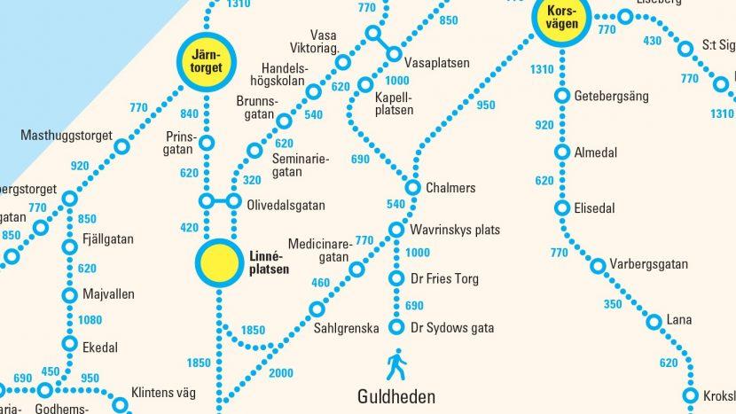 O companie de transport public își invită călătorii să meargă pe jos