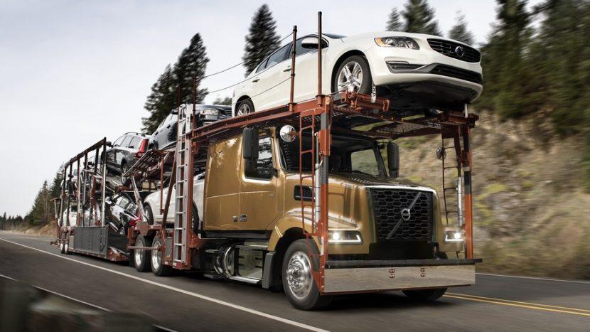 Noua serie Volvo VAH, transportor auto pentru piața americană