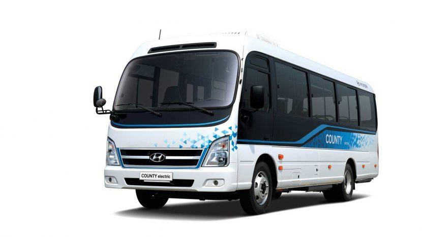 Hyundai lansează minibuzul County Electric
