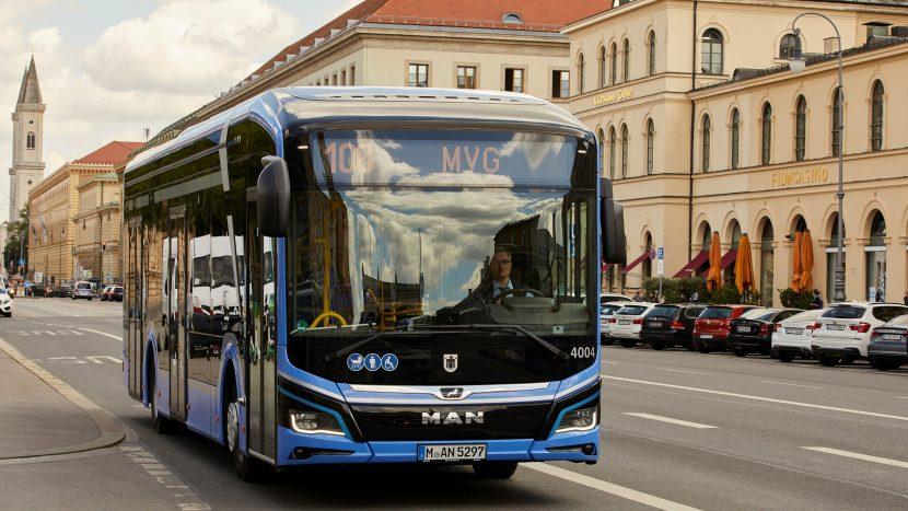 MAN Lion's City E a început să opereze și în Munchen