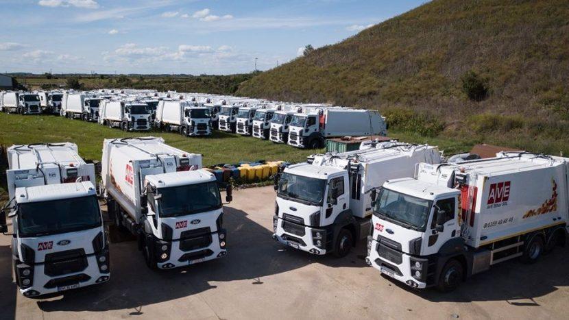 35 de autogunoiere compactoare Ford Trucks pentru AVE Bihor