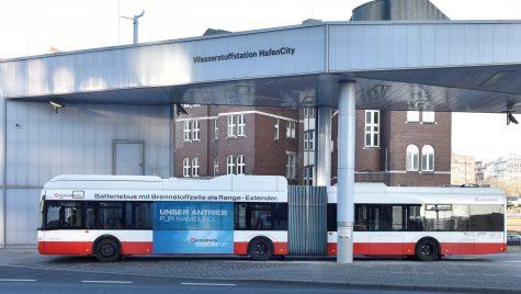 Licitație pentru 50 de autobuze alimentate cu hidrogen în Hamburg
