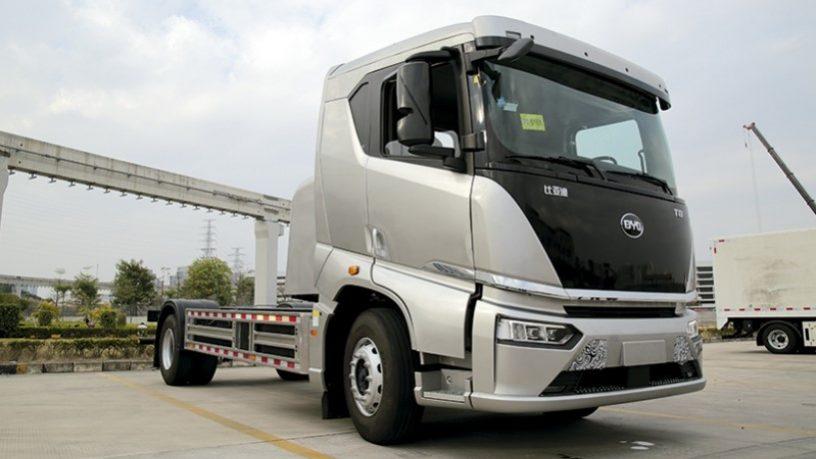 Camioanele electrice BYD, aproape de lansarea în Europa