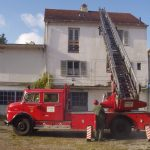 Camion de pompieri Mercedes de 57 de ani Ucraina