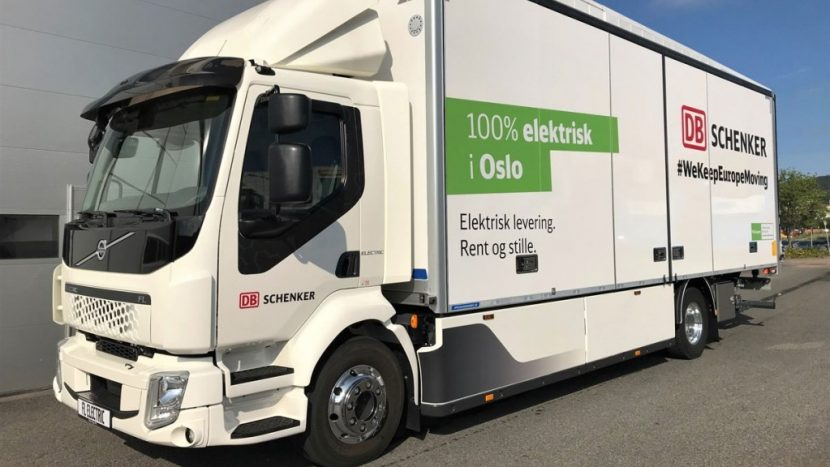 Flotă Volvo FL Electric pentru DB Schenker Norvegia