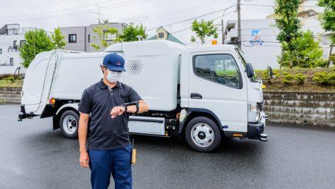 eCanter SensorCollect, camion concept cu operare de la distanță