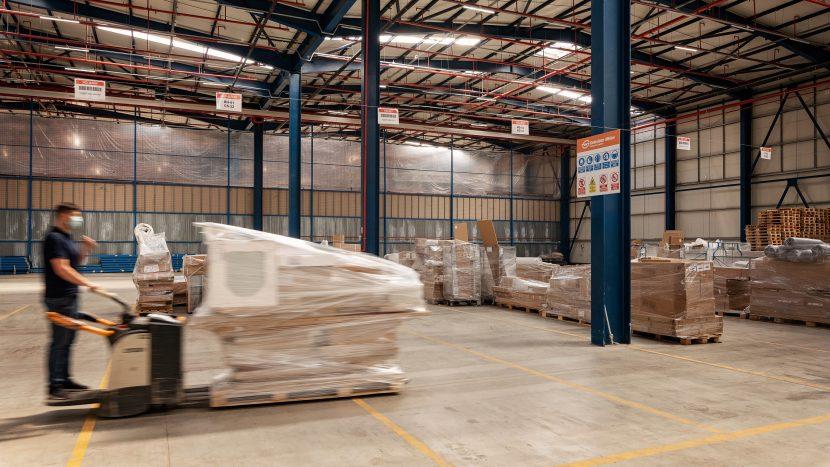 Nou terminal Gebrüder Weiss România dedicat serviciului de livrare la domiciliu