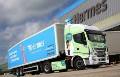 Hermes adaugă noi camioane Iveco CNG în flotă