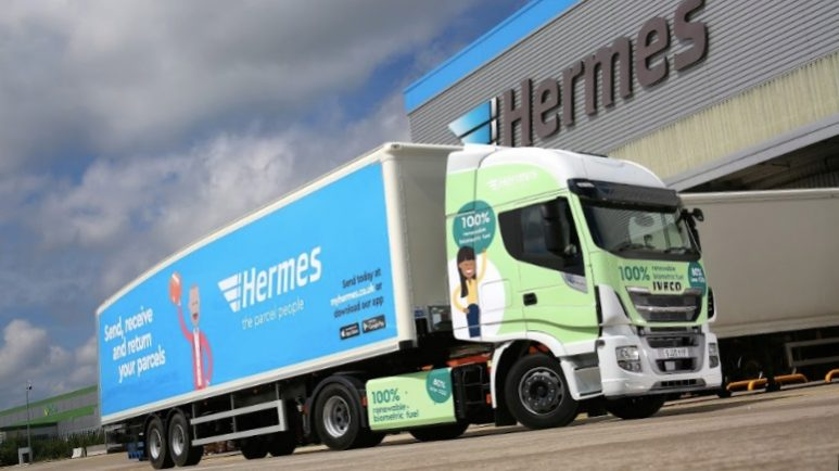 Hermes Iveco CNG