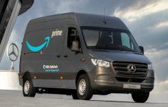 Amazon comandă peste 1.800 de vanuri electrice Mercedes