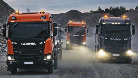 Ofertă Scania România în segmentul de construcții
