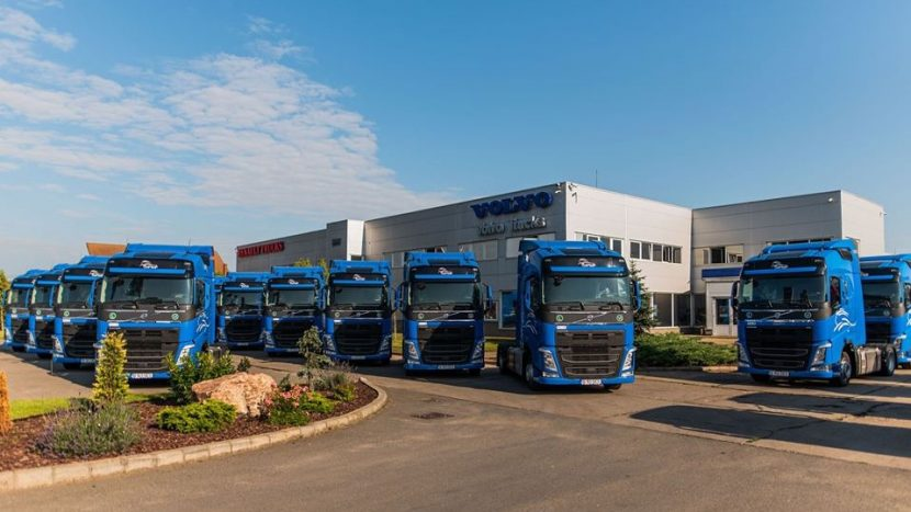 TRANS SESE 16 Volvo FH cu I-Save