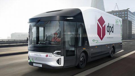 DPD va testa Volta Zero, primul camion electric construit special pentru livrări