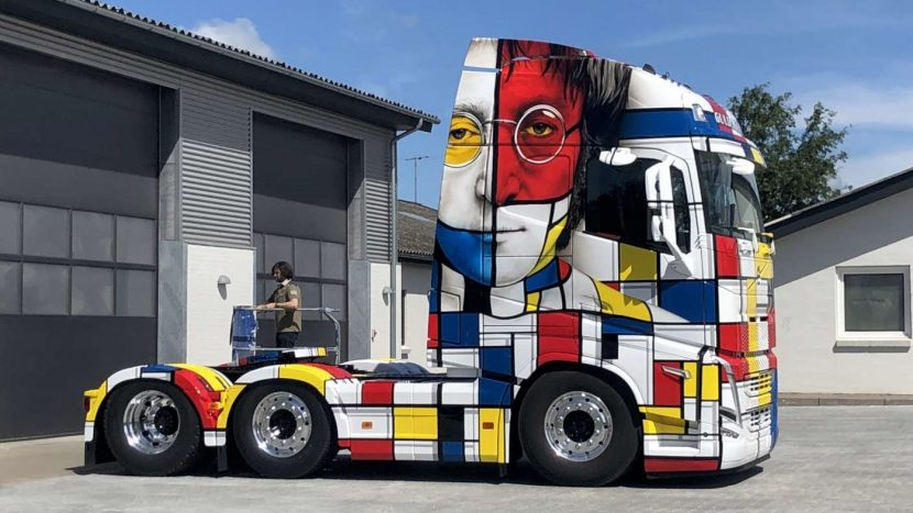 Design special pentru un camion Volvo FH