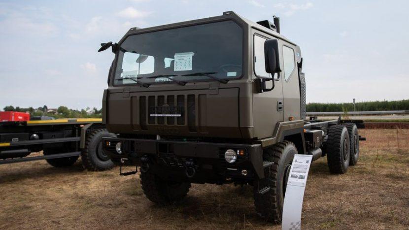 Camioanele Iveco pentru MApN vor fi produse la Petrești