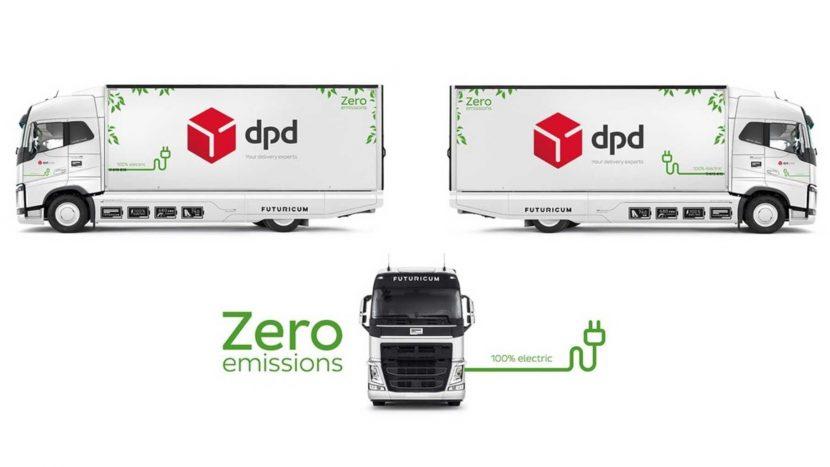 DPD a comandat un camion electric cu autonomie de 760 km