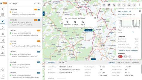 DKV Live, noul portal DKV cu date telematice în timp real