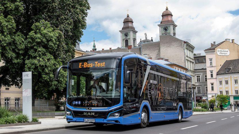MAN Lion's City E, testat în premieră în Austria