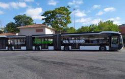 Autobuz electric de 25 de metri lungime în Turcia