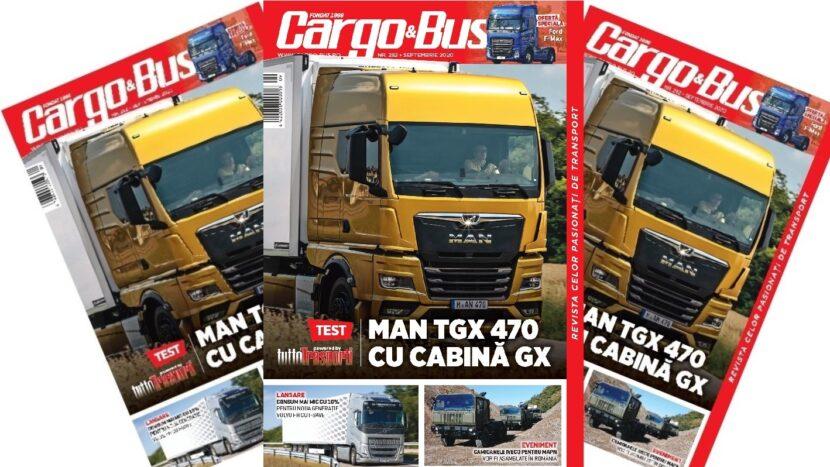 A apărut Cargo&Bus nr. 281, ediția septembrie 2020