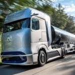 Mercedes-Benz GenH2 Truck: alimentare cu hidrogen și autonomie de 1.000 km