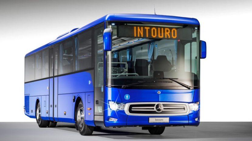 Noul Mercedes-Benz Intouro, primul autobuz cu ABA 5