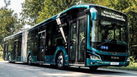 Prima comandă pentru autobuzul electric articulat MAN Lion's City 18 E