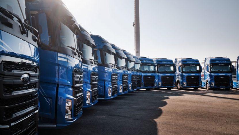 Prima flotă Ford Trucks din vestul UE