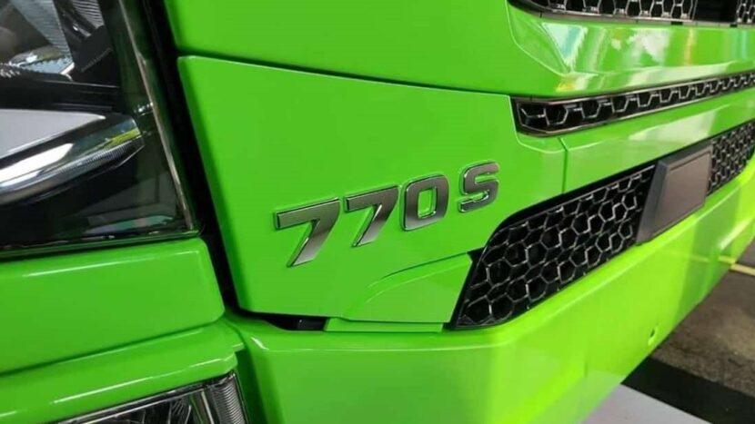 Scania V8 redevine cel mai puternic motor montat pe un camion de serie
