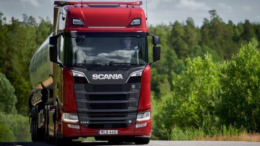 Noul rege: Scania V8 de 770 CP este cel mai puternic camion din Europa