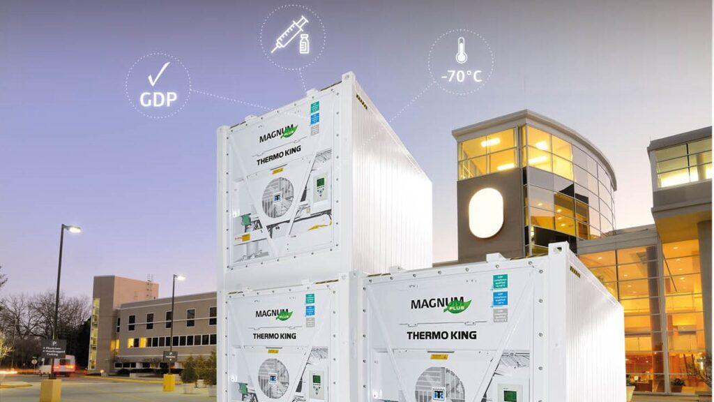 Thermo King lansează soluții de stocare la rece pentru distribuția vaccinului anti Covid