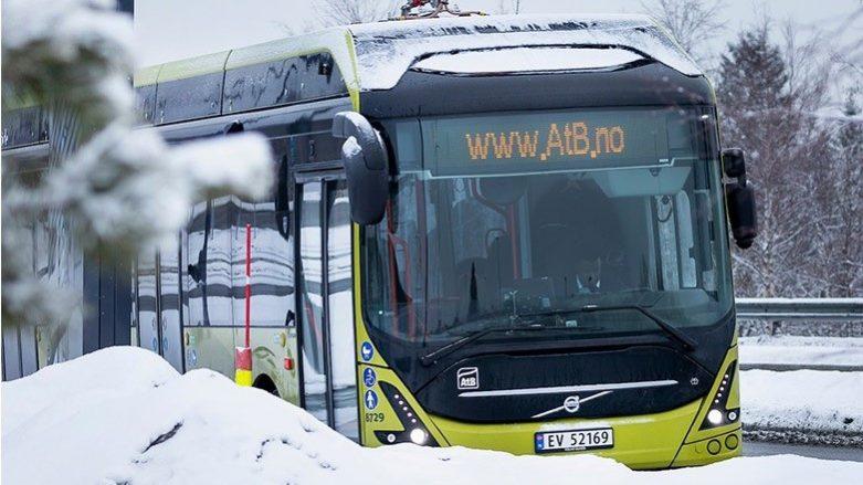 Autobuze electrice Volvo la nord de cercul polar