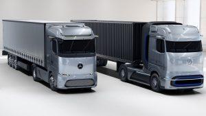 eActros LongHaul, GenH2 Truck