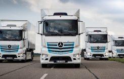 Vehiculele electrice Daimler au parcurs 7 milioane km în testele cu clienții