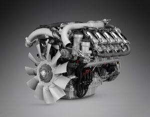 noul motor Scania V8