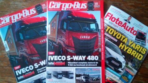 A apărut Cargo&Bus nr. 283, ediția octombrie 2020
