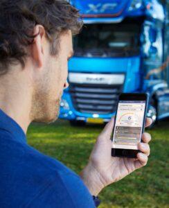 DAF Connect App ajută la îmbunătățirea consumului