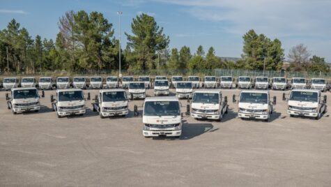 FUSO eCanter a depășit borna de 200 de unități livrate